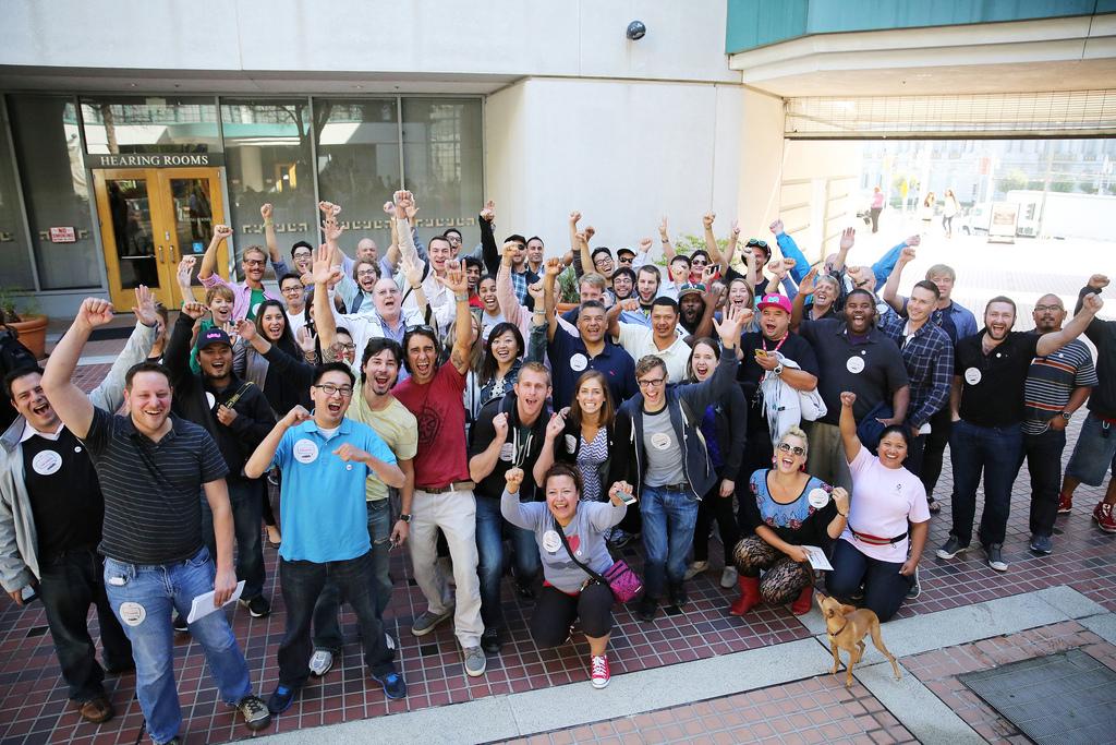 Peers Victory Photo at CPUC