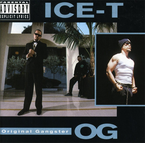 Ice-T Original Gangster Album Cover